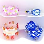 Chromatic bracelets