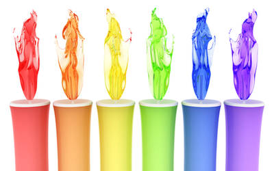 Chromatic candles by k3-studio