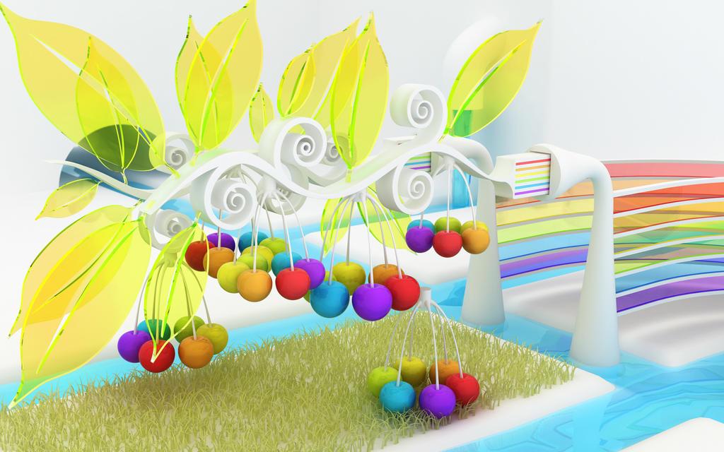 Rainbow spray by k3-studio