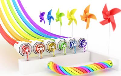 Rainbow generator
