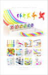 2013 Chromatic calendar by k3-studio