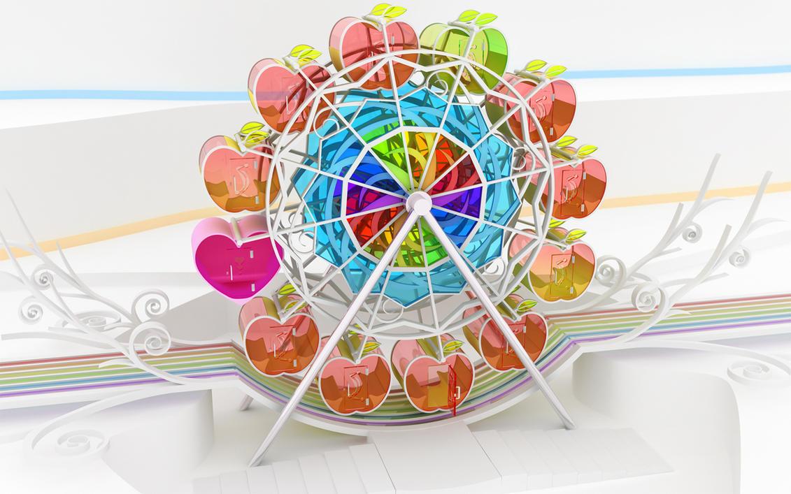 Apple wheel by k3-studio