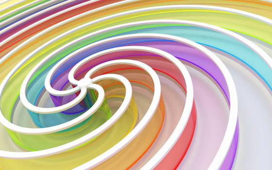 Chromatic spiral by k3-studio