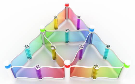 RGB triangles