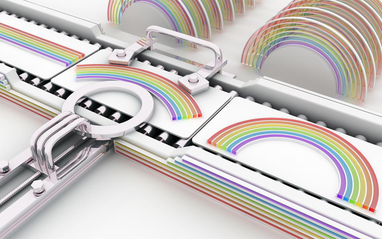 Making rainbows by k3-studio