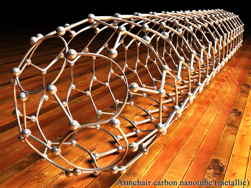 Armchair carbon nanotube - 1 by k3-studio on deviantART