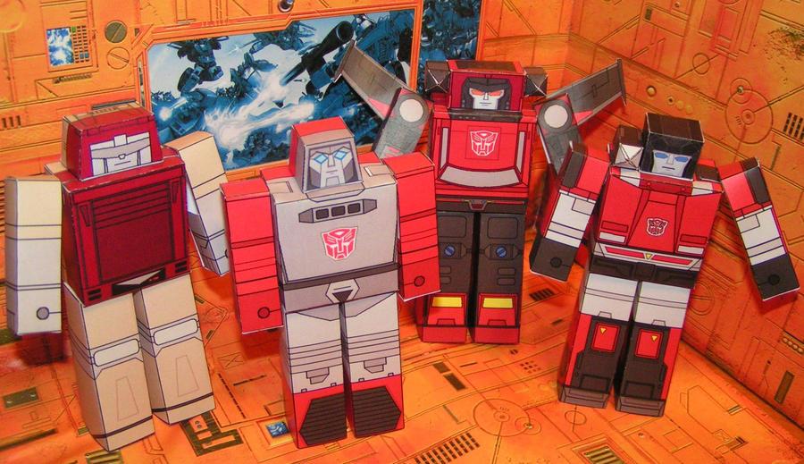 Autobots HAKOs by aim11