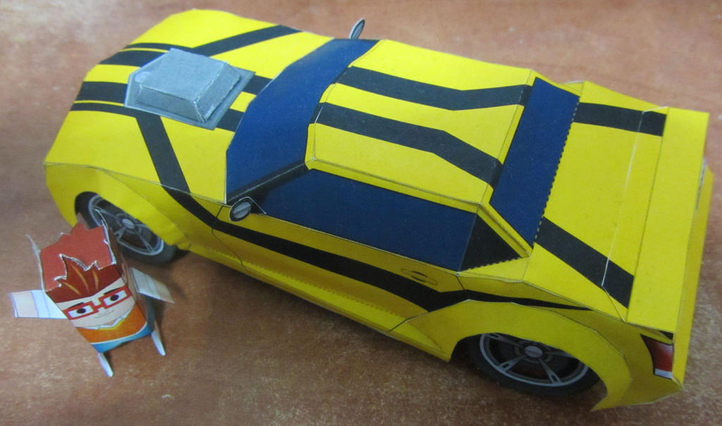 1-32 Bumblebee TFP Vehicle Mode by aim11