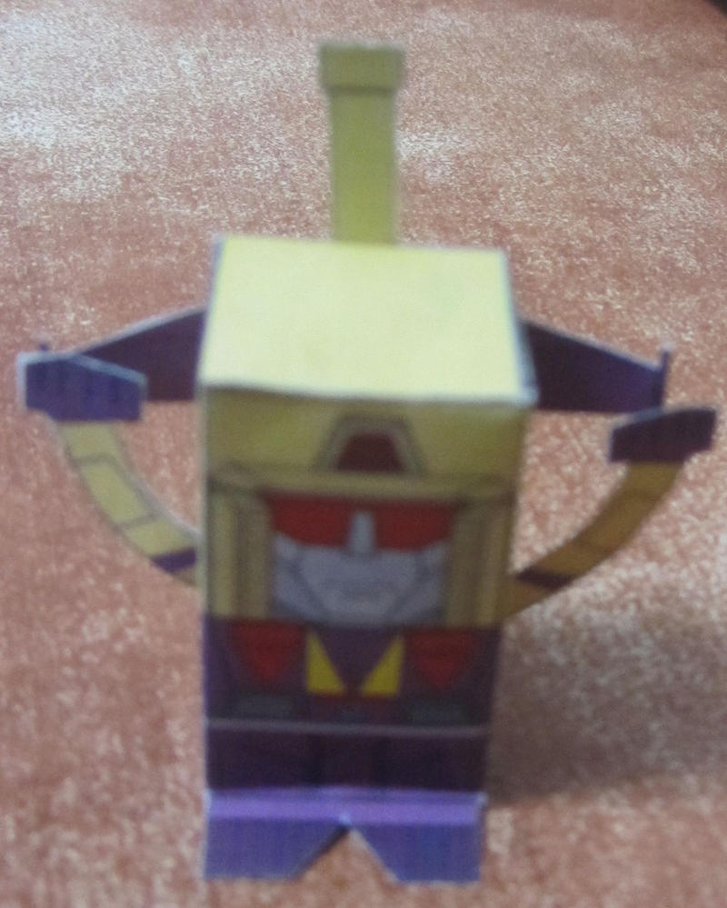 TF Toy-A-Day Blitzwing by aim11