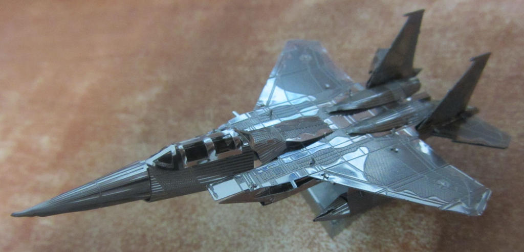 Metal Earth F-15 by aim11