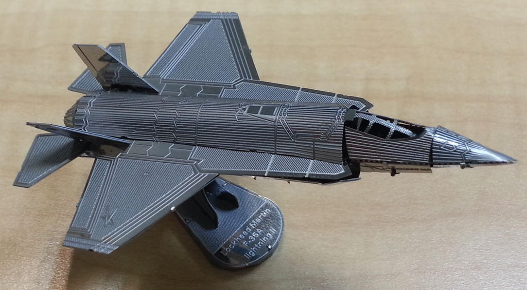 Metal Earth F-35 by aim11