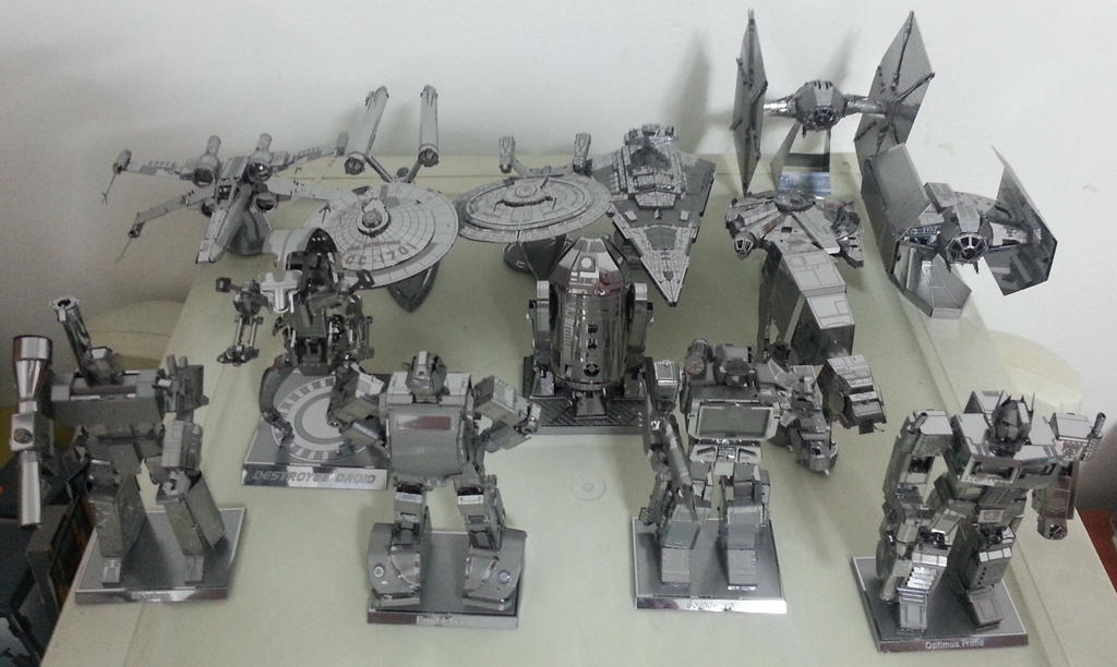 Metal Earth - The Armada by aim11