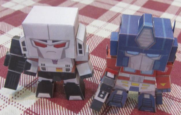 POP-Fold Optimus and Megatron