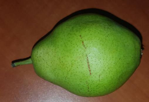 A shy pear