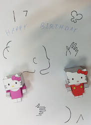 Kitty says Happy Birthday