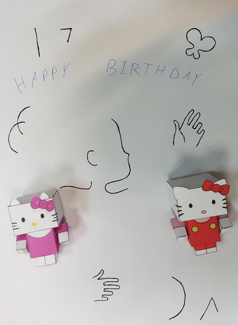 Kitty says Happy Birthday by aim11