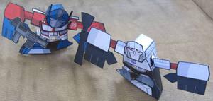 BIT+ Optimus and Megatorn