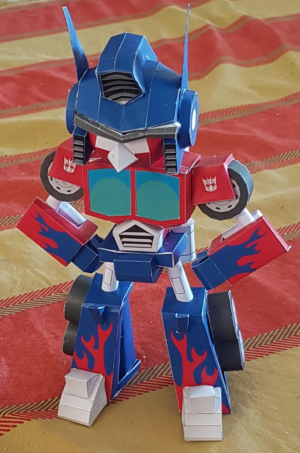 Angry Bird Optimus Prime