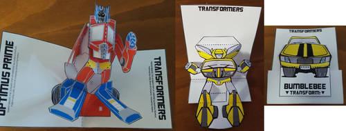 Pop-Up Transformers