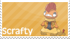 Scrafty Stamp by whiteflamingo