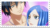 Gray x Juvia Stamp by whiteflamingo