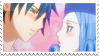 Gray x Juvia Stamp 2 by whiteflamingo