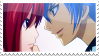 Jellal x Erza Stamp by whiteflamingo