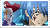 Jellal x Erza Stamp 2 by whiteflamingo