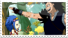 Gajeel x Levy Stamp 2 by whiteflamingo