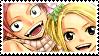 Natsu x Lucy Stamp by whiteflamingo