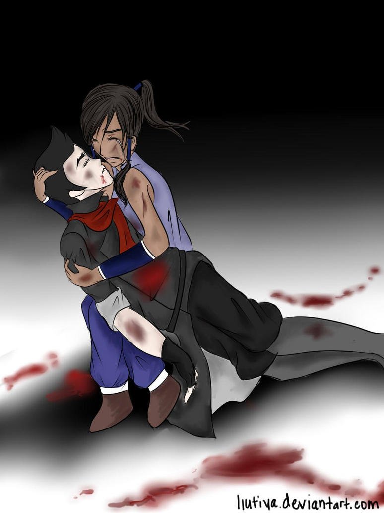 :Makorra Week Day 5: Damage by liutiya on DeviantArt