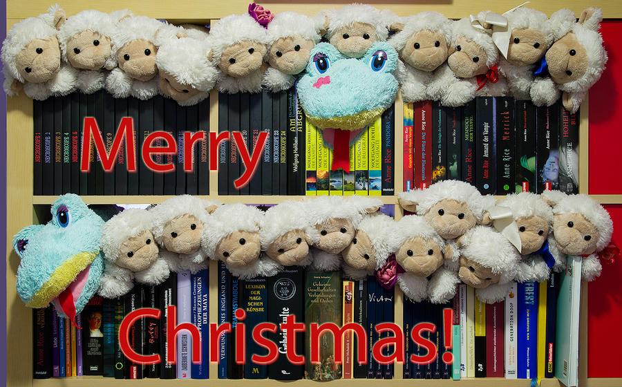 Merry Sheepmas by Gwali