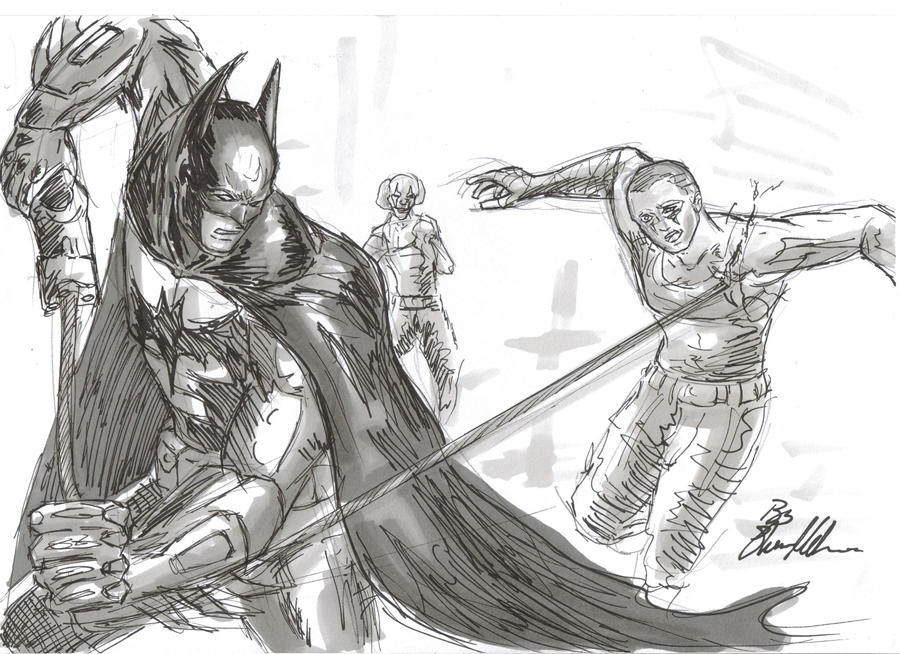Batman Arkham City by JuJu-Madness on DeviantArt