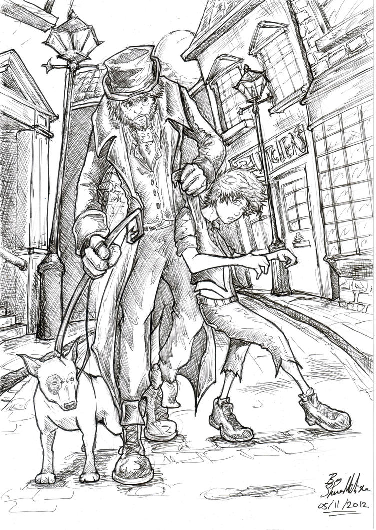 oliver twist coloring pages - photo#27