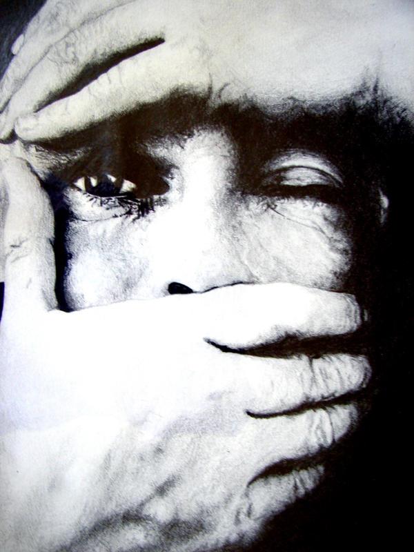 Silence by MoodyBlueArt