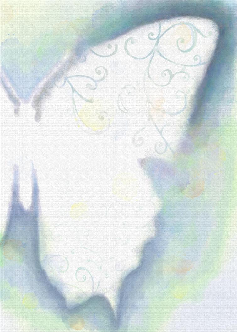 Watercolor butterfly by Brand-NewEyes
