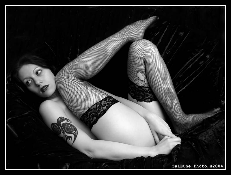 Zille - Fishnets 2 :BW
