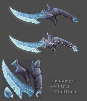 Charmed Ice Dagger