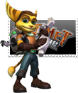 Ratchet and Clank Stamp