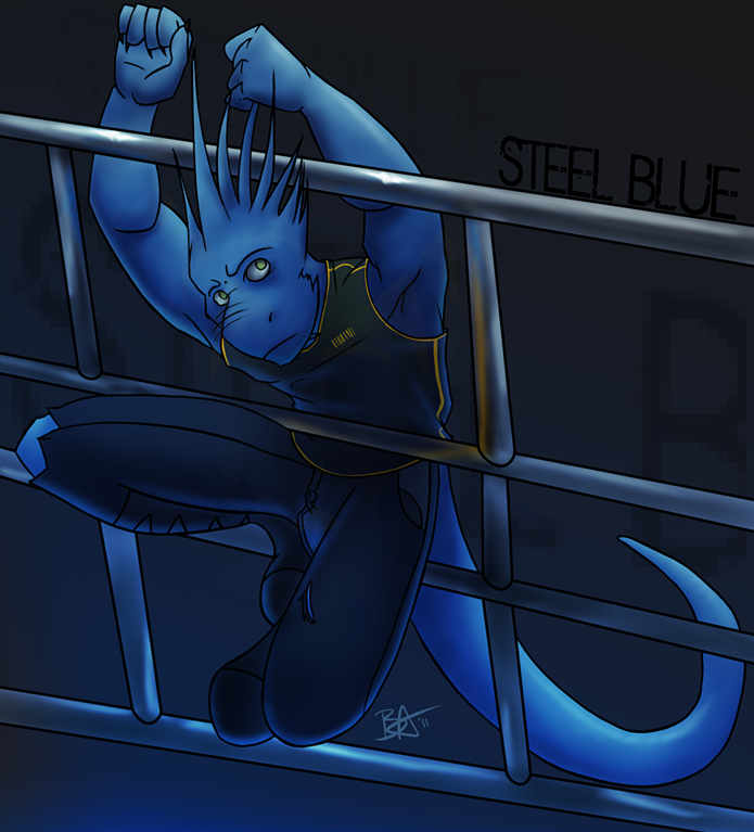 Steel Blue by Ben-Anderson