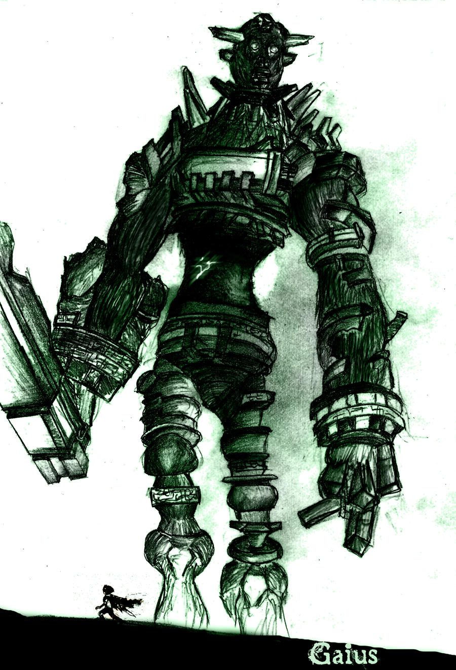 Gaius shadow of the colossus by torvoraptor on deviantart