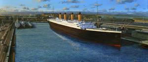 Titanic Docked