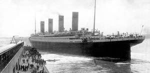 Titanic Departing Southampton Dock