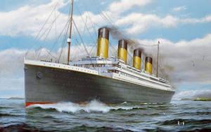 Titanic departing Cork by lusitania25