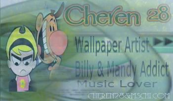 My DA ID Slightly Modified by cheren28