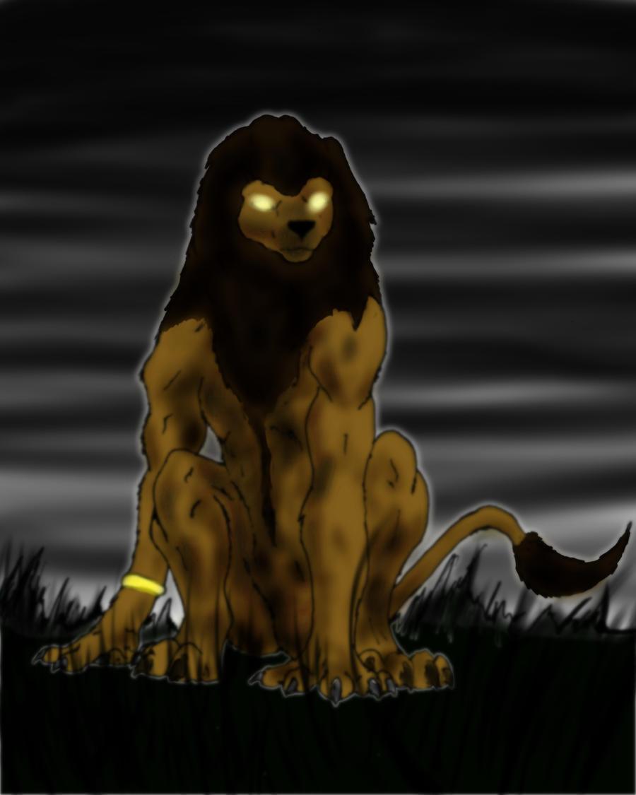 Werelion Mid-Transformation by Night-Forager on DeviantArt