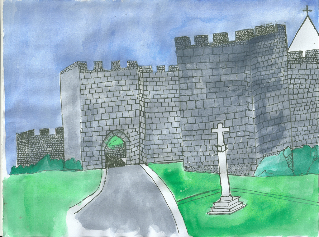 Castelo de Penela I by DoodlAnne
