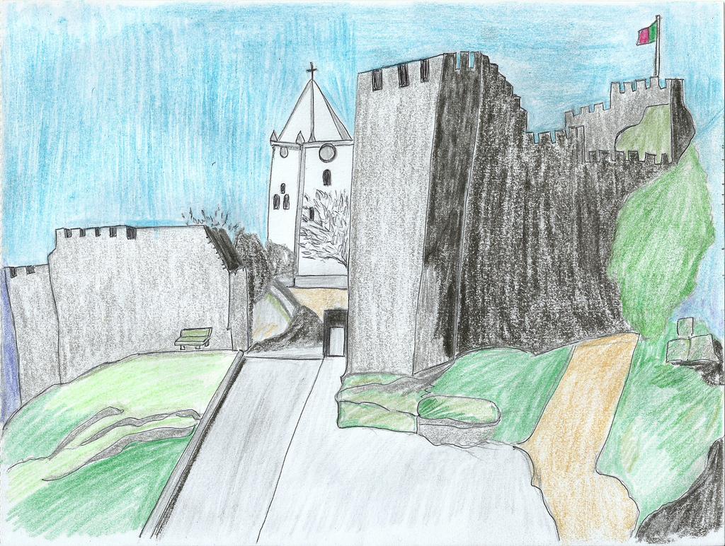 Castelo de Penela II by DoodlAnne
