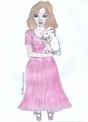 Alice's rabbit by DoodlAnne