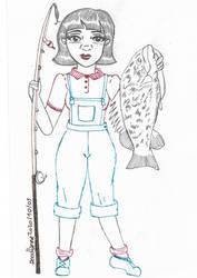 2020-10-01 Fish - Inktober 2020 - Day 1